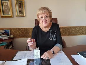 Поздравляем председателя Красноярской краевой организации Профсоюза образования с получением наград!