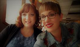 Erin (L) w/sister Kerri (aka #4)