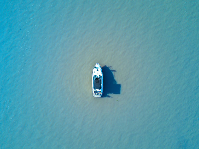 bateau de location sur la mer