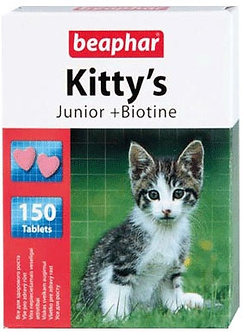 Витамины Беафар Kitty's Junior  для котят 150 таб.