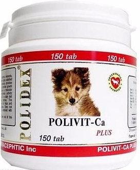 Полидекс Поливит – Кальций плюс, 150 таб.