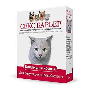 Секс барьер для кошек доза