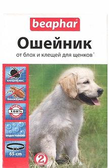 БЕАФАР ошейник для щенков против блох и клещей, 65 см