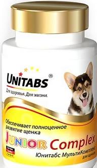 ЮНИТАБС JUNIORComplex витамины для щенков 100 таб