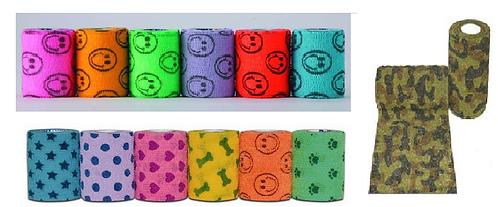Бандаж самофиксирующийся без латекса для кошек и собак ширина 7,5 см