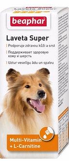 Беафар Лавета Супер Витамины для шерсти собак