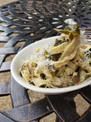 Mushroom Fettucine