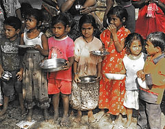 Hungry children with bowls RED POP.jpg