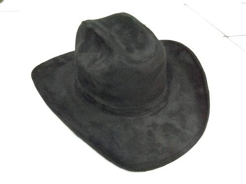 Copia de Sombrero gamuza textil negro