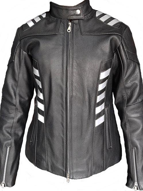 Chamarra para motociclista Dama modelo Flash