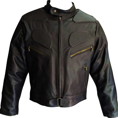Chamarra de piel para motociclista Speed Caballero