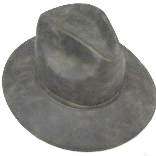 Sombrero vinipiel verde