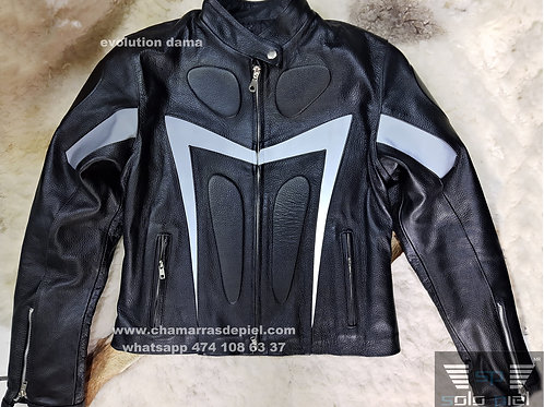 Chamarra para motocilcista Dama modelo evolution