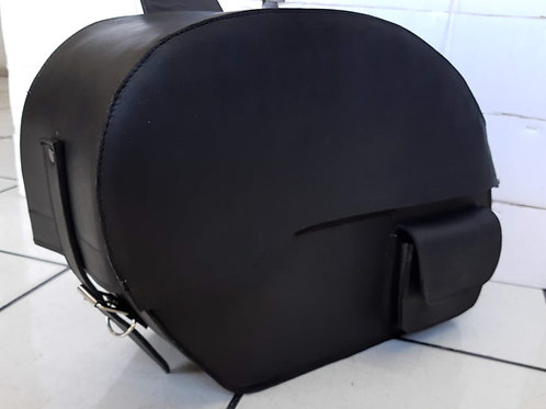 Alforjas de piel modelo Alien grandes bolsa