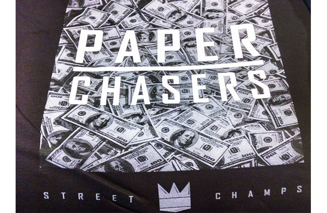 PAPER CHASERS Street Champs Silk Screen printing tshirt.jpg