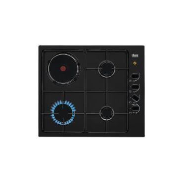 FAURE Table de cuisson mixte FGM64300BA Noir