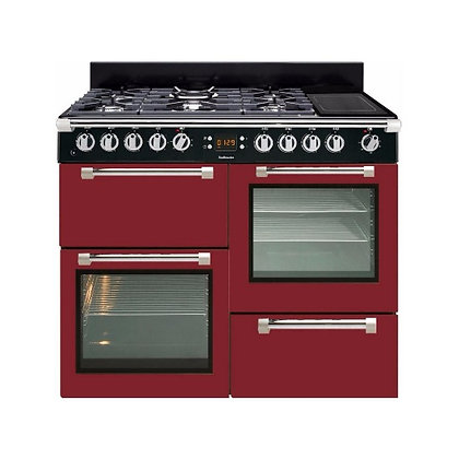 LEISURE Piano de cuisson CK100F324R Rouge