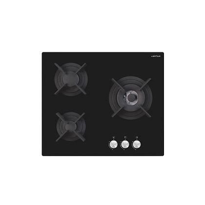 AIRLUX Table de cuisson Gaz AV635HBK Noir
