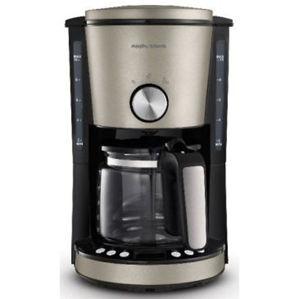 MORPHY RICHARDS Cafetière M162525 Platinium