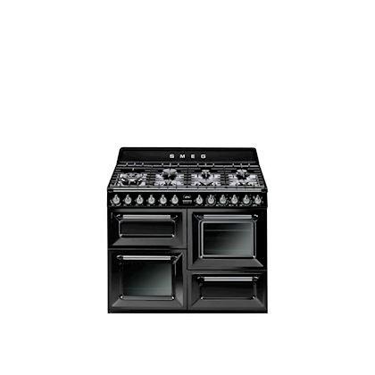 SMEG Piano de cuisson TR4110BL1 Noir