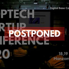【開催延期及び払い戻しのお知らせ】アジア最大規模の不動産テック&建設テック特化型ピッチカンファレンス「PropTech Startup Conference 2020」