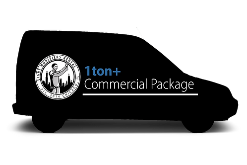 1ton+ Commercial Van Package