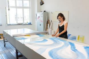 Überprüfung Malereiarbeit bei Firma Derix, Kevelaer