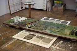Arbeitsprozess im Atelier