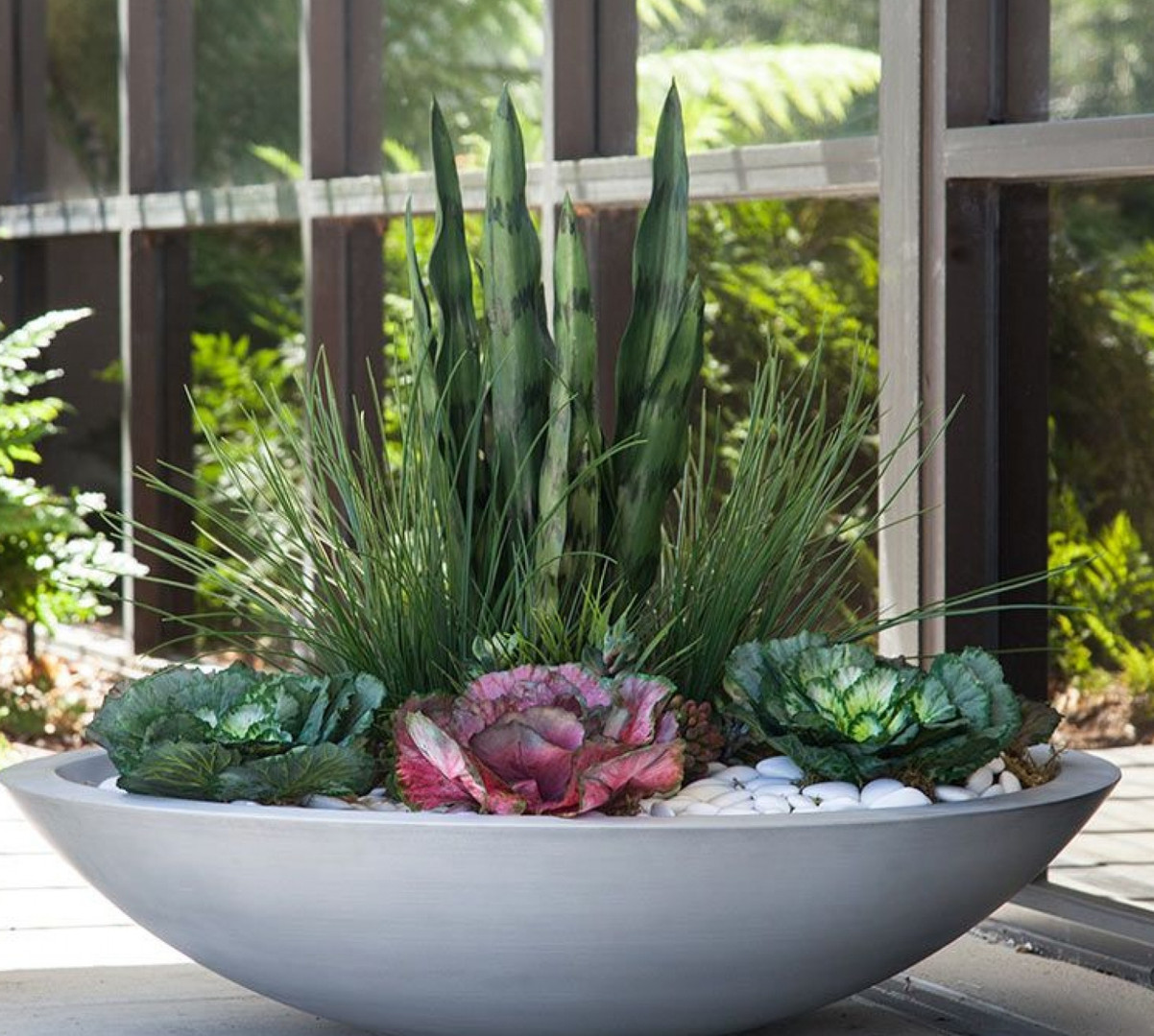 Modern Low Bowl by Planters Unlimited