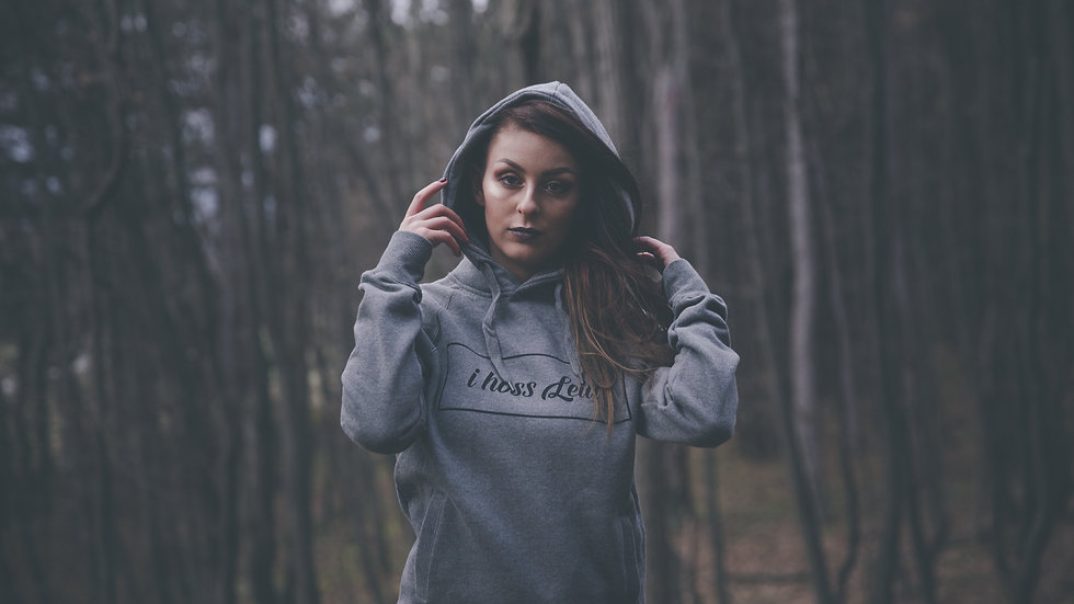 I HOSS LEID // Hoodie Unisex