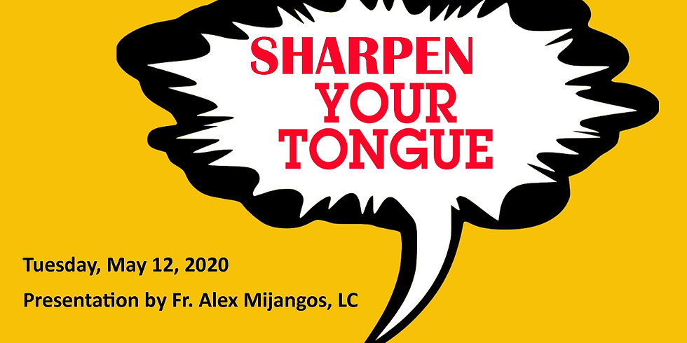 """""""Sharpen Your Tongue"""" Forming Whole Heart Series  l Online"""