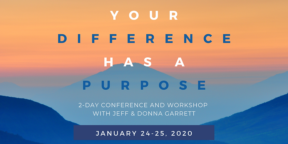 Your Difference has a Purpose SOLD OUT