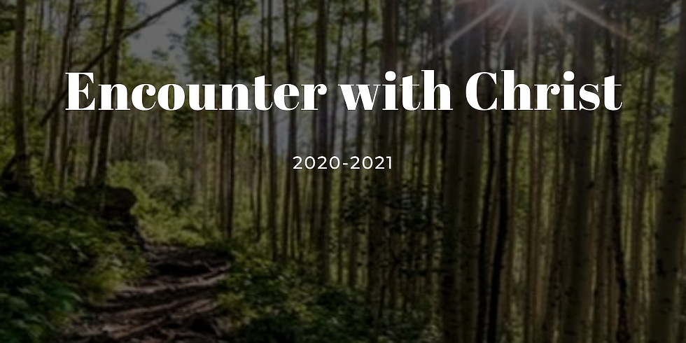 2020/2021 Encounter with Christ Booklet