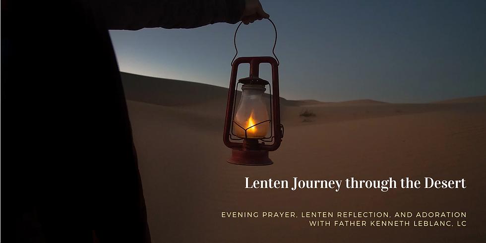 Lenten Journey through the Desert