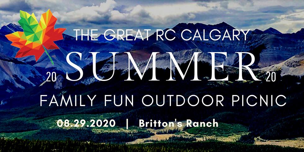 The Great RC Calgary Summer Family Fun Outdoor Picnic