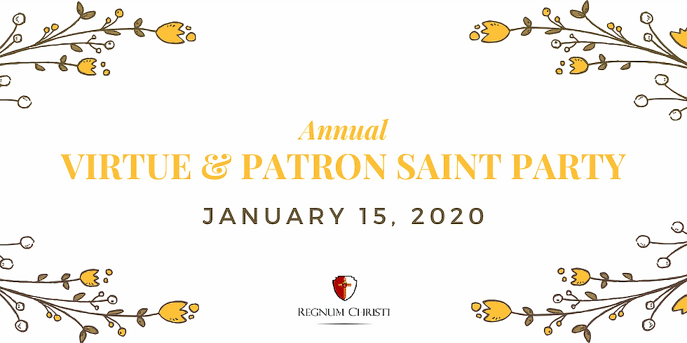 Women's Annual Virtue & Patron Saint Party