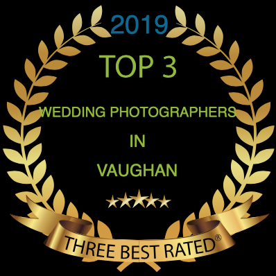Little Blue Lemon wins Top 3 wedding photographers in Vaughan
