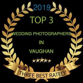 Little Blue Lemon wins Top 3 wedding photographers in Vaughan