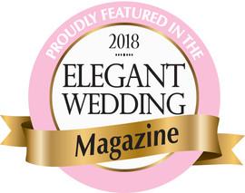 Toronto wedding photographer Little Blue Lemon featured in Elegant Wedding Magazine 2018