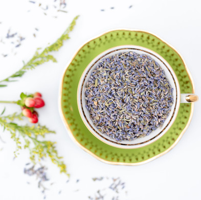 Lavender ingredients for artisan tea by Bodhi Tree health clinic