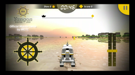 MCTC proudly launch the Yangon Water Bus Game and Simulator as the students' project