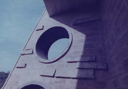 PUNCTURED BUTTRESSES