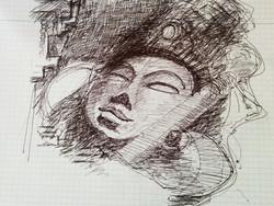 Sketch of diety