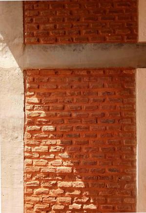 Achikal brick wall