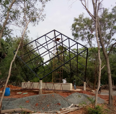 space frame ready - 6m x 6m each