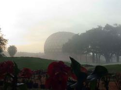 Fog around Matrimandir
