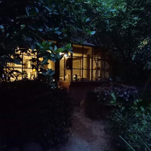 Entrance - night