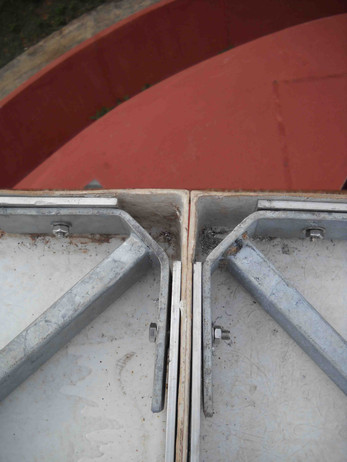 Roof - Fixing detail