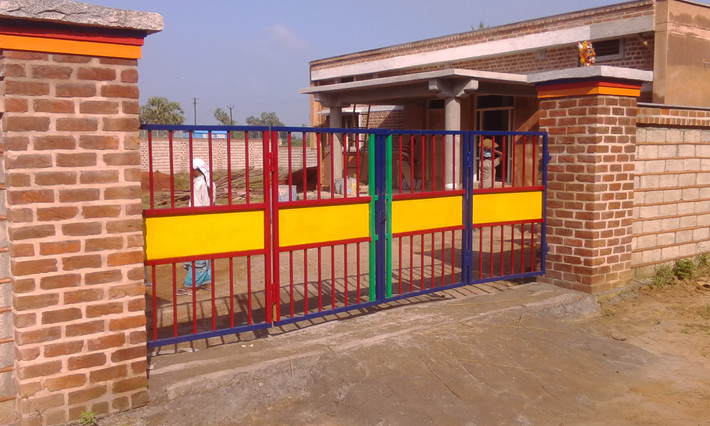Colorful Entrance Gate
