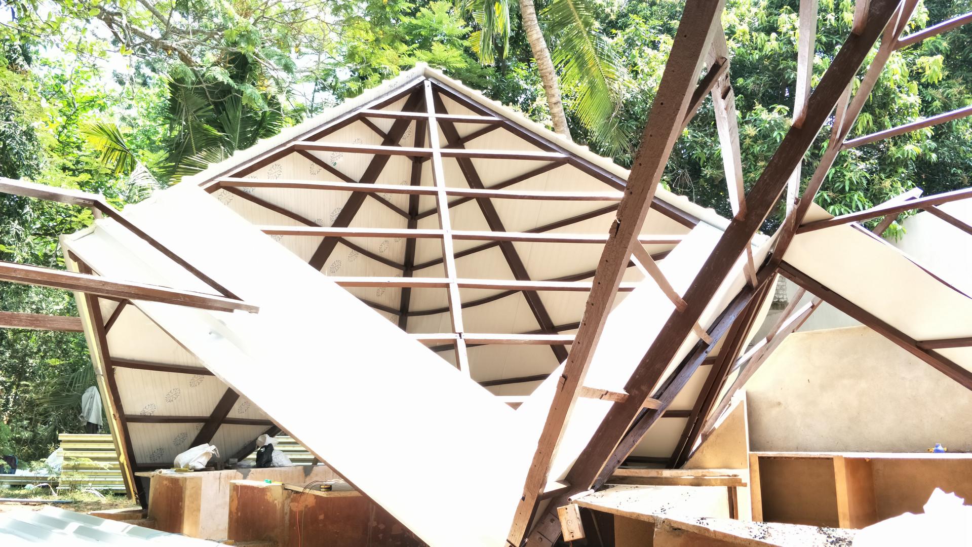 Aspiration Hut Restoration, 2017